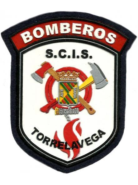 Bomberos de Torrelavega parche insignia emblema distintivo