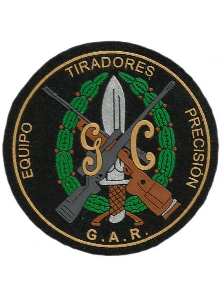 Guardia civil GAR equipo tiradores de precisión parche insignia emblema distintivo