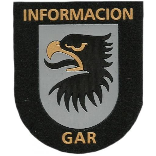 Guardia civil GAR servicio de información parche insignia emblema distintivo [0]