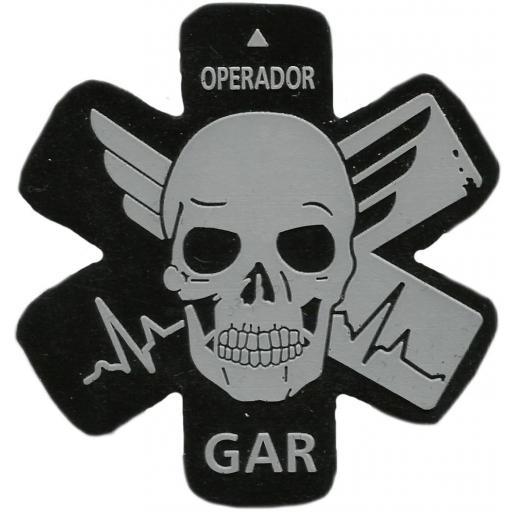 Guardia civil GAR equipo de respuesta y rescate operador parche insignia emblema distintivo