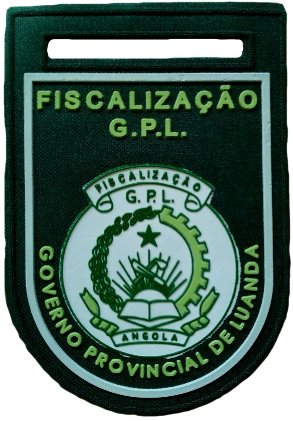 Policía fiscal de Luanda en Angola parche insignia emblema distintivo