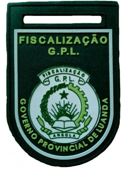 POLICÍA FISCAL DE LUANDA CIUDAD CAPITAL DE ANGOLA PARCHE INSIGNIA EMBLEMA