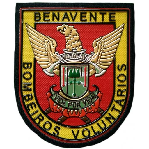 Bomberos de Benavente Portugal parche insignia emblema distintivo