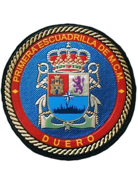 EJERCITO ARMADA ESPAÑOLA 1 ESCUADRILLA DUERO PARCHE INSIGNIA EMBLEMA DISTINTIVO