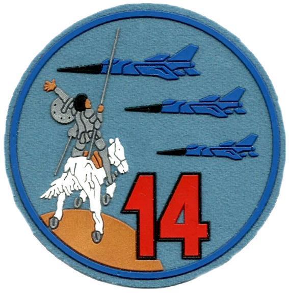 Ejército del aire ala 14 parche insignia emblema distintivo