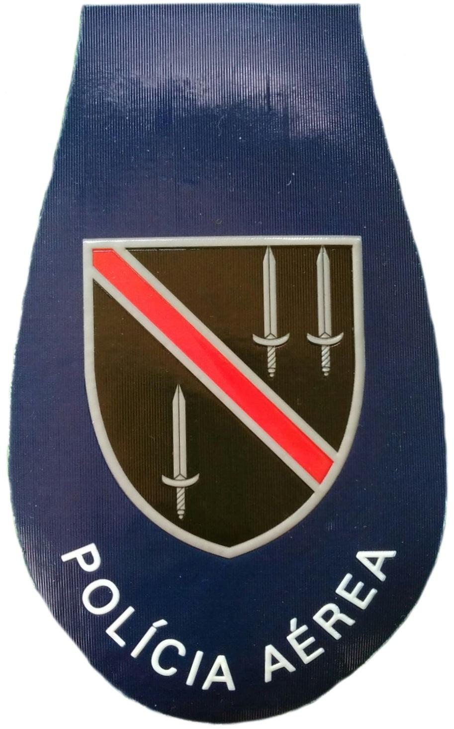 Policía de orden público de Angola policía aérea helicópteros parche insignia emblema distintivo