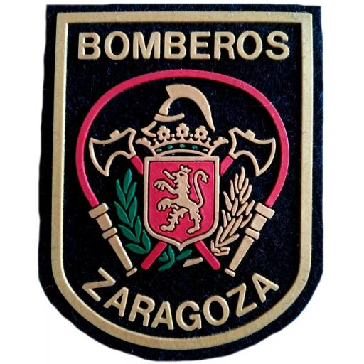 Bomberos de Zaragoza parche insignia emblema distintivo