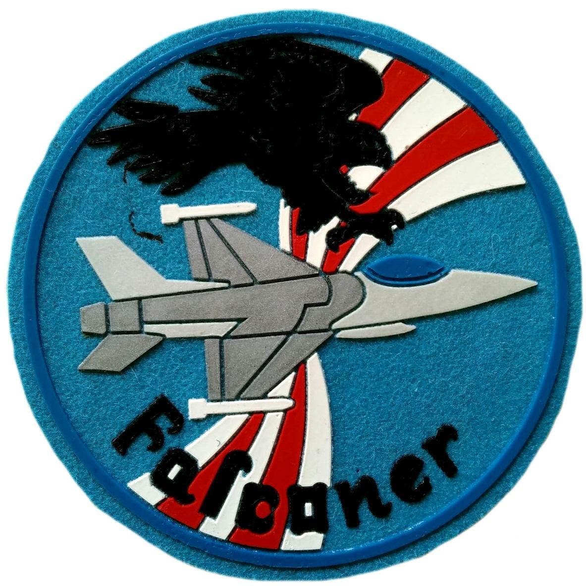 Ejército del aire falcaner parche insignia emblema distintivo