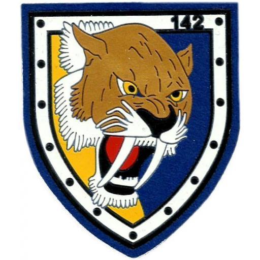 Ejército del aire escuadrón 142 parche insignia emblema distintivo [0]