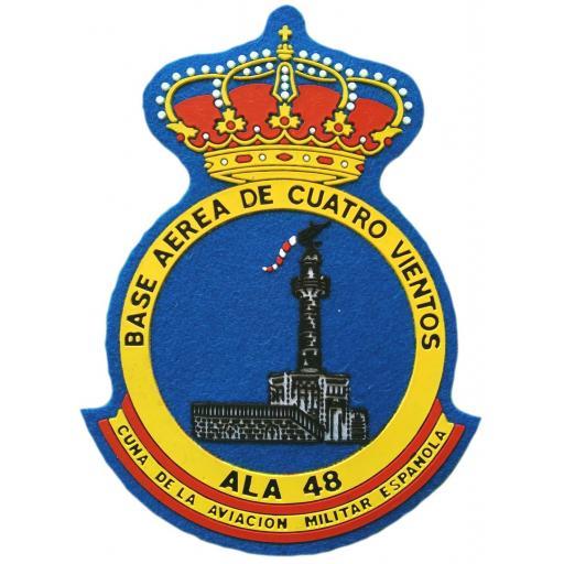 Ejército del aire ala 48 cuatro vientos parche insignia emblema distintivo [0]