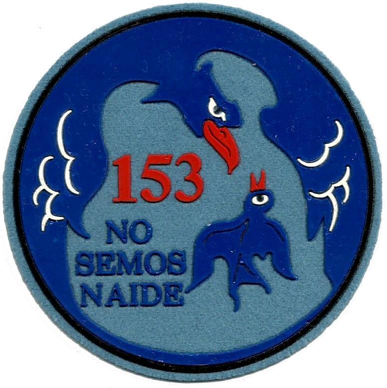 Ejército del aire escuadrón 153 parche insignia emblema distintivo