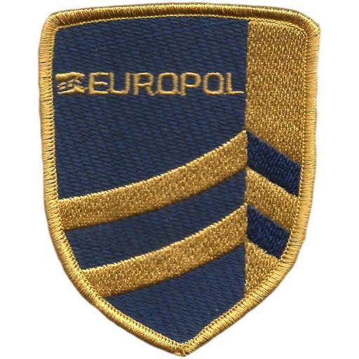 Policía de Europa Europol parche insignia emblema distintivo