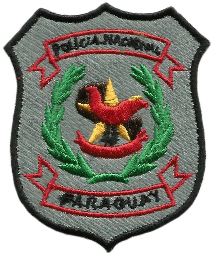 PARCHE POLICÍA NACIONAL DE PARAGUAY