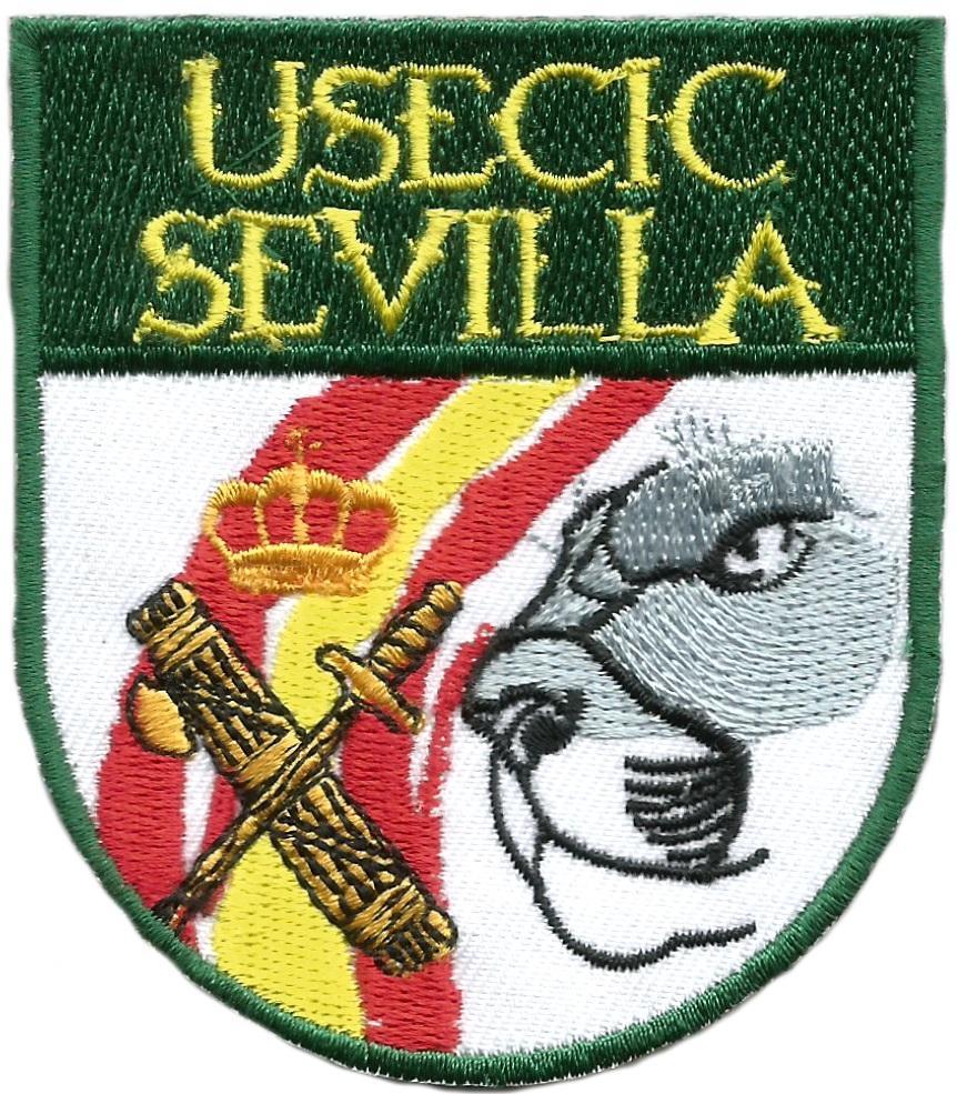 Guardia civil Usecic Sevilla parche insignia emblema distintivo