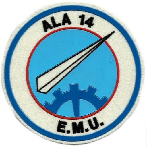 Ejército del aire ala 14 emu parche insignia emblema distintivo