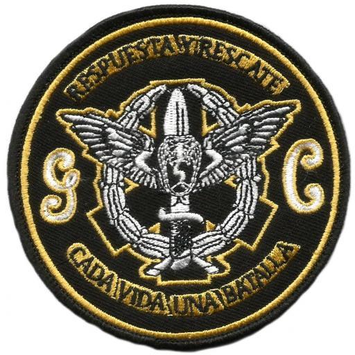 Guardia civil unidad de respuesta y rescate en alta montaña parche insignia emblema distintivo