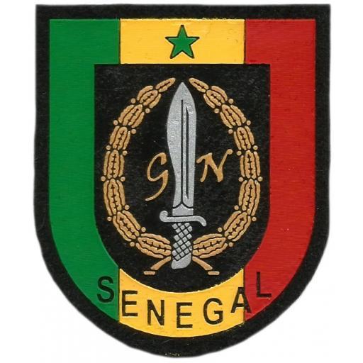 Policía Guardia Nacional de Senegal parche insignia emblema distintivo
