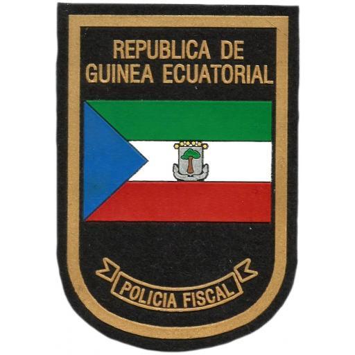 Policía Fiscal de Guinea Ecuatorial parche insignia emblema distintivo