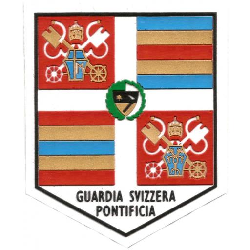 Guardia suiza vaticana Papa Juan Pablo II parche insignia emblema distintivo