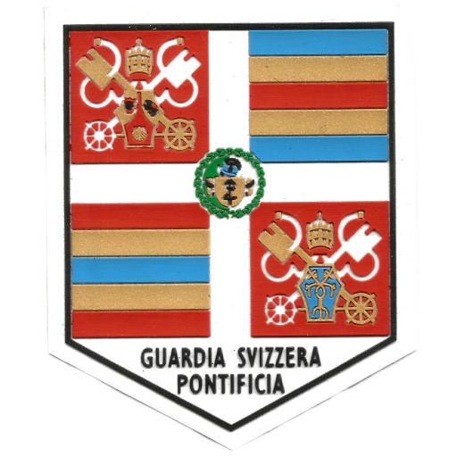 Guardia suiza vaticana Papa Benedicto XVI parche insignia emblema distintivo