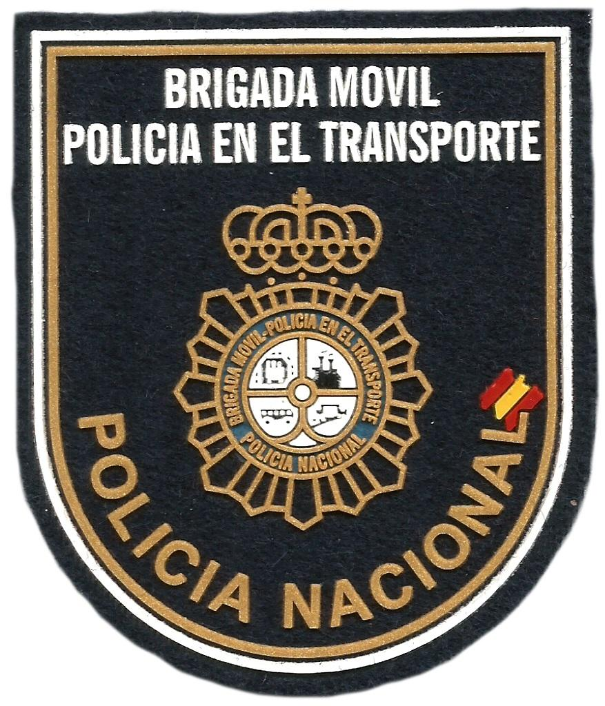 Policía nacional CNP brigada móvil transporte parche insignia emblema distintivo