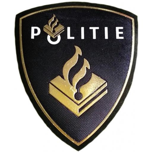 Policía nacional de Holanda Países Bajos Politie parche insignia emblema distintivo