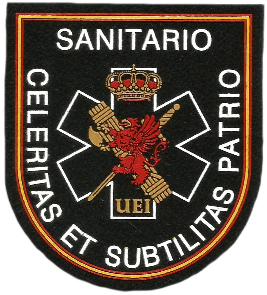 Guardia Civil UEI sanitario parche insignia emblema distintivo