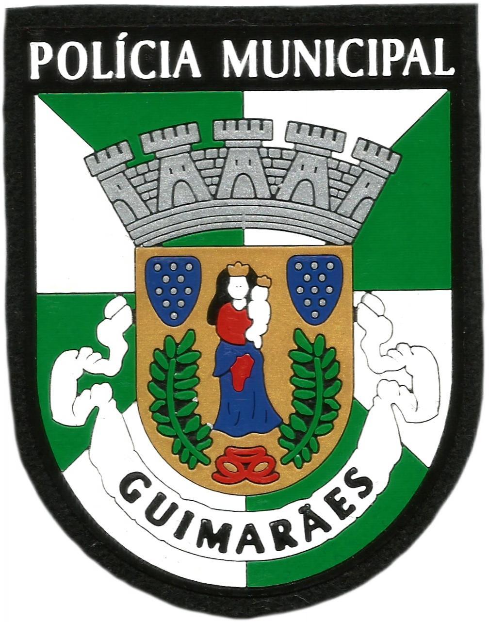 PARCHE POLICÍA MUNICIPAL DE LA CIUDAD DE GUIMARAES