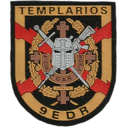 Guardia civil GAR grupo de acción rápida Antiterroristas Templarios parche insignia emblema distintivo