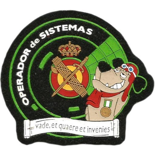 PARCHE GUARDIA CIVIL OPERADOR DE SISTEMAS
