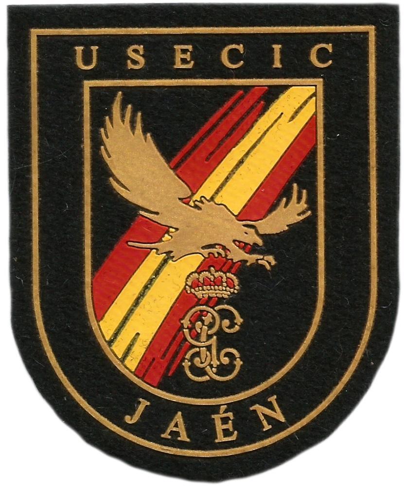 Guardia Civil USECIC Jaén parche insignia emblema distintivo