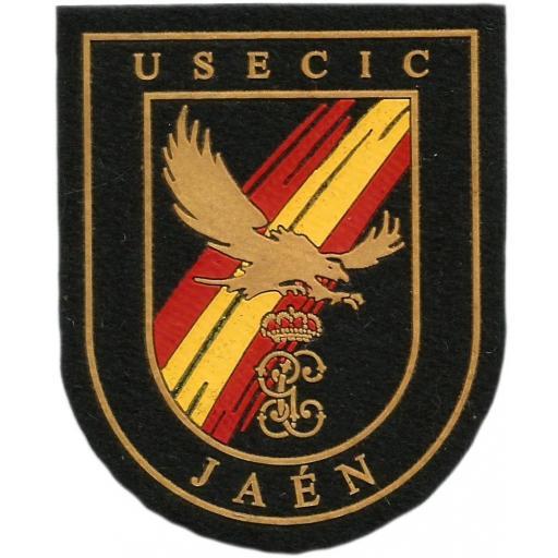 Guardia Civil USECIC Jaén parche insignia emblema distintivo [0]