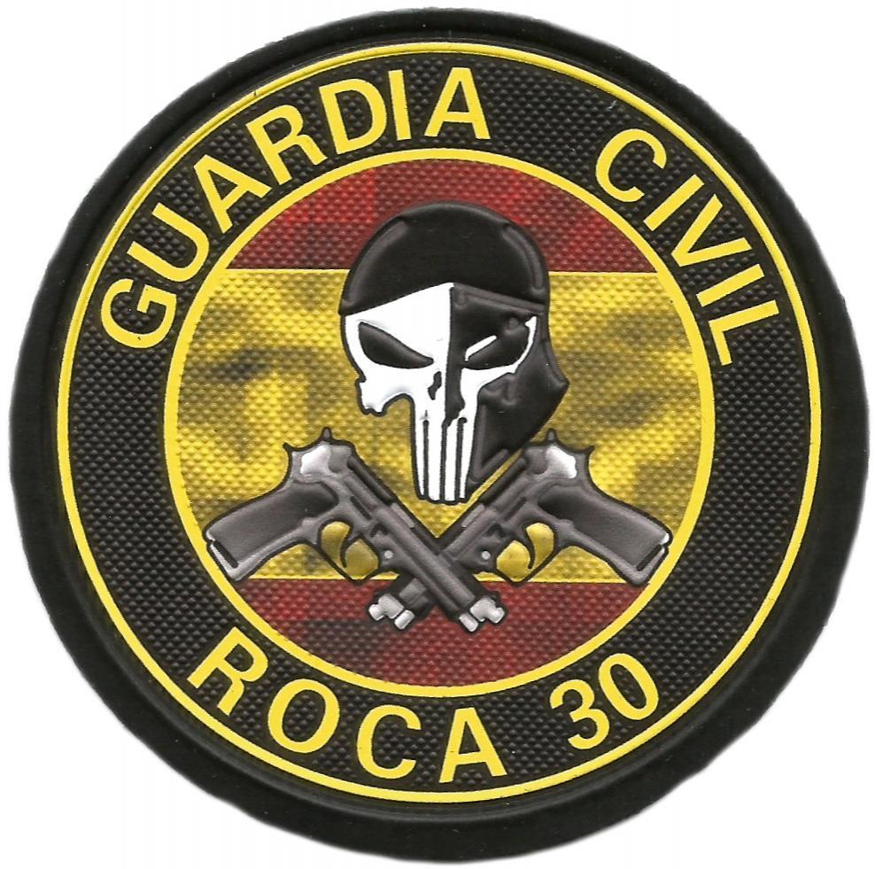 Guardia civil Indicativo Roca 30 parche insignia emblema distintivo