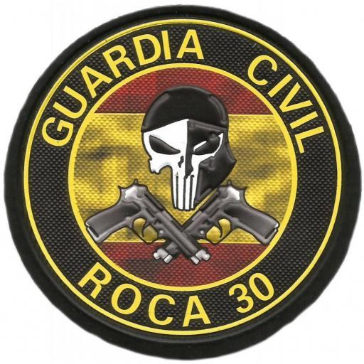 Guardia civil Indicativo Roca 30 parche insignia emblema distintivo [0]