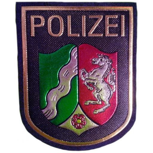Policía Land de Renania del Norte Westfalia Alemania parche insignia emblema distintivo