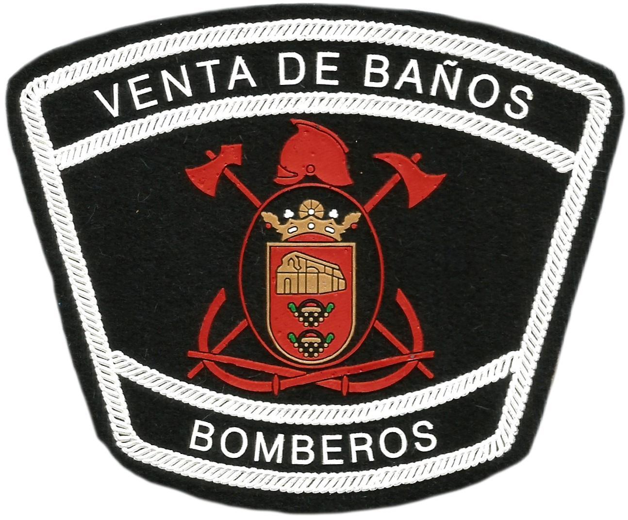 BOMBEROS DE VENTA DE BAÑOS PALENCIA PARCHE INSIGNIA EMBLEMA DISTINTIVO