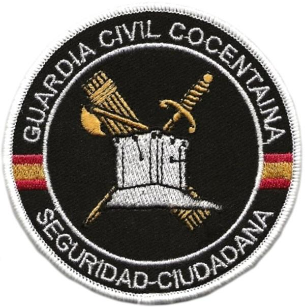 PARCHE GUARDIA CIVIL USECIC COCENTAINA - INSIGNIA EMBLEMA BORDADO
