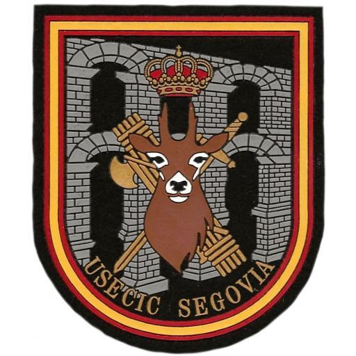 Guardia Civil USECIC Segovia parche insignia emblema distintivo