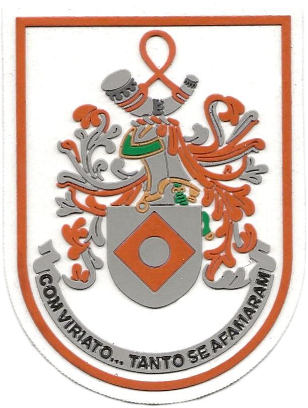 GUARDIA NACIONAL REPUBLICANA DE PORTUGAL COMANDO TERRITORIAL DE VISEU PARCHE INSIGNIA EMBLEMA DISTINTIVO