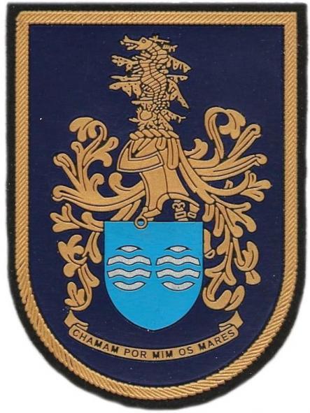 GUARDIA NACIONAL REPUBLICANA DE PORTUGAL UNIDAD CONTROL COSTERO PARCHE INSIGNIA EMBLEMA DISTINTIVO