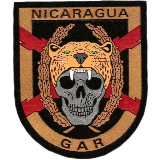 PARCHE GUARDIA CIVIL GAR NICARAGUA - INSIGNIA - EMBLEMA