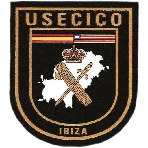 Guardia Civil USECICO Ibiza Islas Baleares parche insignia emblema distintivo