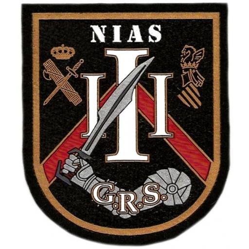 Guardia civil GRS Grupo de reserva y seguridad NIAS III Comunidad Valenciana parche insignia emblema distintivo