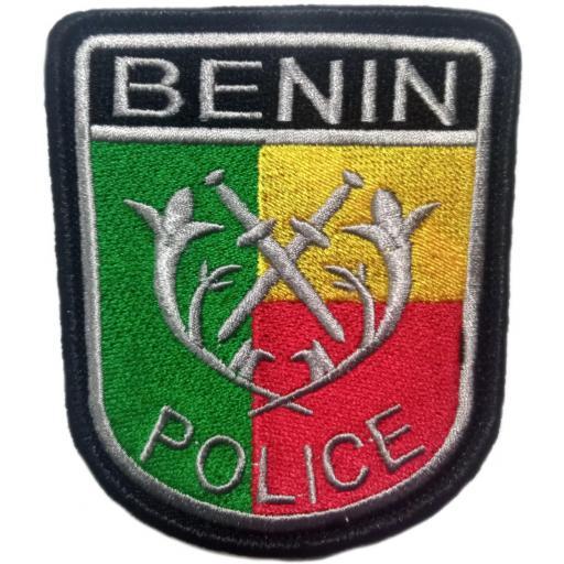 POLICÍA NACIONAL DE BENÍN PARCHE INSIGNIA EMBLEMA