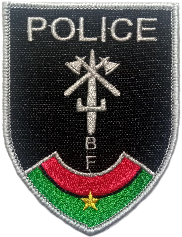 POLICÍA NACIONAL DE BURKINA FASO PARCHE INSIGNIA EMBLEMA