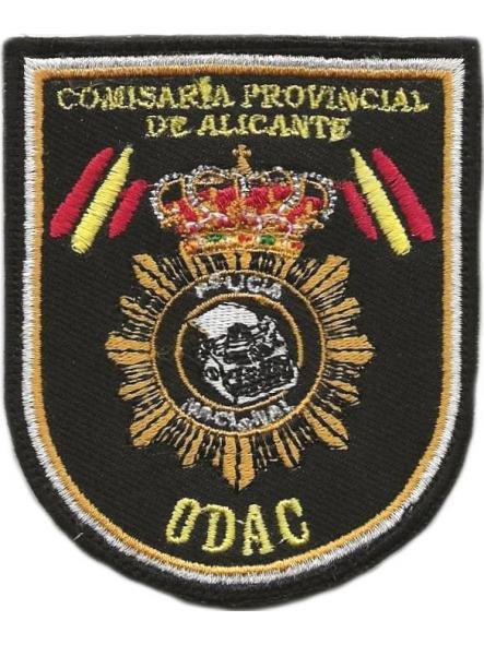 POLICÍA NACIONAL CNP ODAC ALICANTE OFICINA DE ATENCIÓN AL CIUDADANO PARCHE INSIGNIA EMBLEMA DISTINTIVO [0]