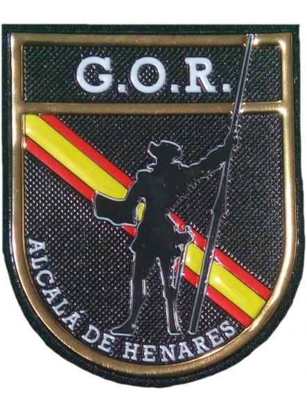 POLICÍA NACIONAL CNP GOR ALCALÁ DE HENARES GRUPO OPERATIVO DE RESPUESTA PARCHE INSIGNIA EMBLEMA DISTINTIVO