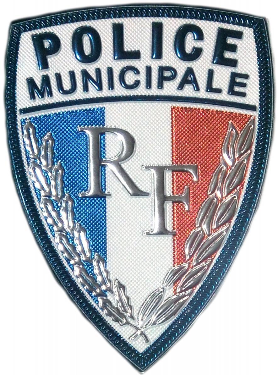 POLICÍA MUNICIPAL DE FRANCIA POLICE MUNICIPALE - PARCHE INSIGNIA EMBLEMA DISTINTIVO