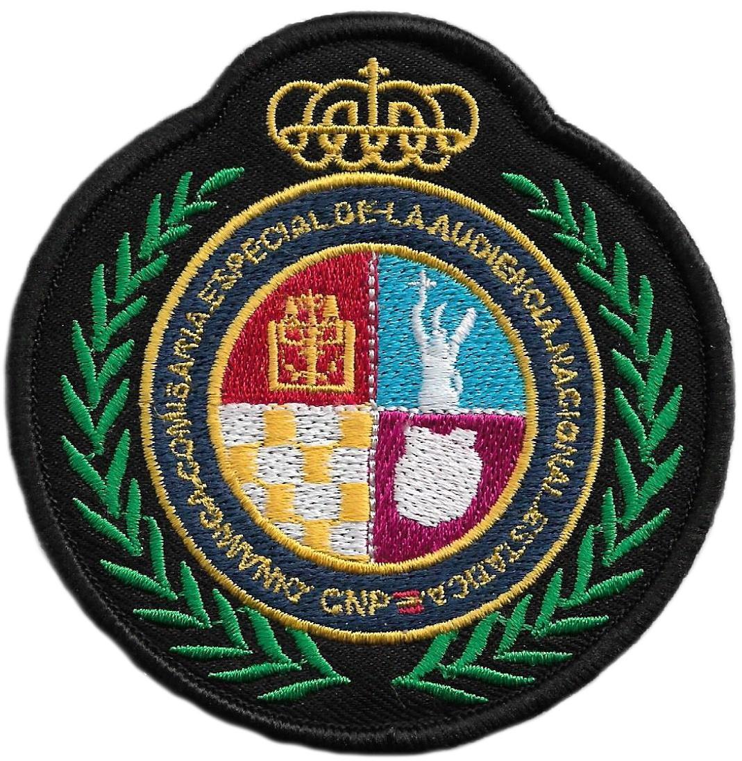 POLICÍA NACIONAL CNP COMISARÍA ESPECIAL DE LA AUDIENCIA NACIONAL PARCHE INSIGNIA EMBLEMA