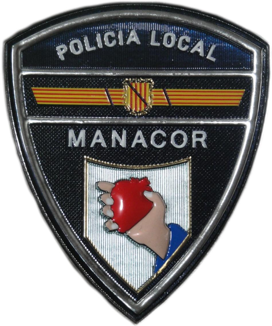 POLICÍA LOCAL MANACOR PARCHE INSIGNIA EMBLEMA DISTINTIVO